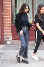 SELENA GOMEZ Out in New York 10/03/2017