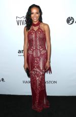 SELITA EBANKS at Amfar Inspiration Gala in Los Angeles 10/13/2017