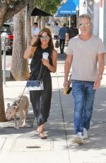 SELMA BLAIR and Ron Carlson Out in Los Angeles 10/09/2017