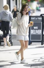 SELMA BLAIR Out for Drink in Los Angeles 10/20/2017