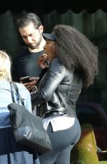 SERENA WILLIAMS and Alexis Ohanian in New Orleans 10/16/2017