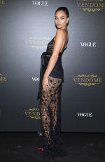 SHANINA SHAIK at Vogue Party at Paris Fashion Week 10/01/2017