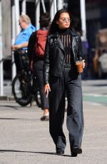 SHANINA SHAIK Out and About in New York 10/18/2017