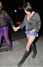 SHANNEN DOHERTY at Tequila Casamigos Halloween Bash in Los Angeles 10/27/2017