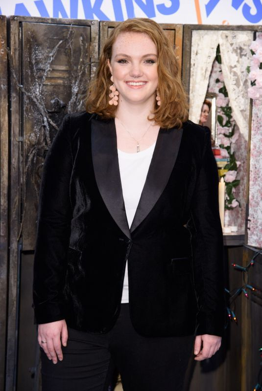 SHANNON PURSER at Stranger Binge with Barb in London 10/27/2017