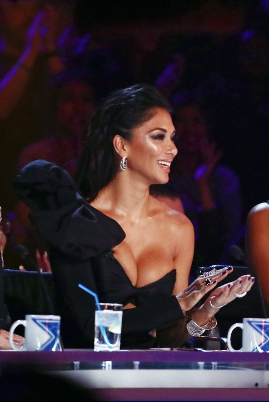 SHARON OSBOURNE, NICOLE SCHERZINGER and ALESHA DIXON at The X Factor Show 10/29/2017