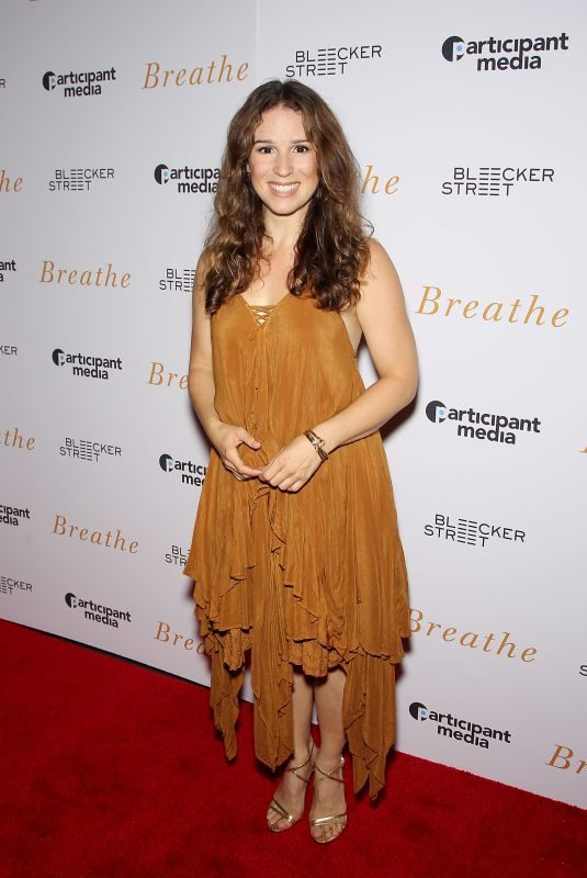 CHILINA KENNEDY at Breathe Special Screening in New York 10/09/2017