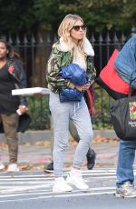 SIENNA MMILLER Out and About in New York 10/30/2017