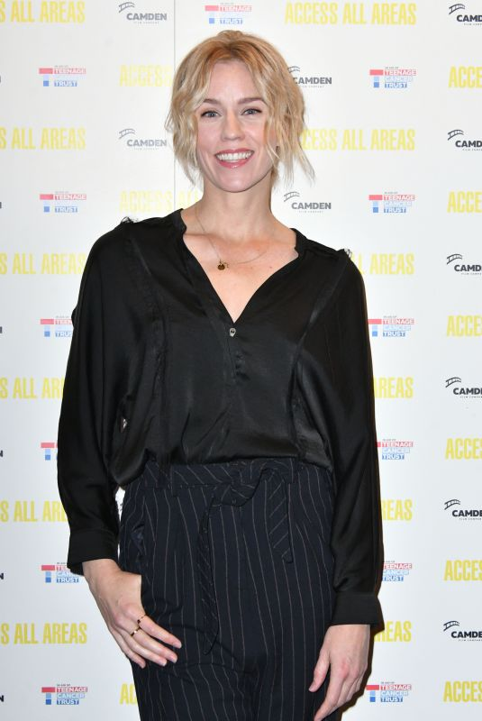 SIMONE MCUALLY at Access All Areas Screening in London 10/17/2017