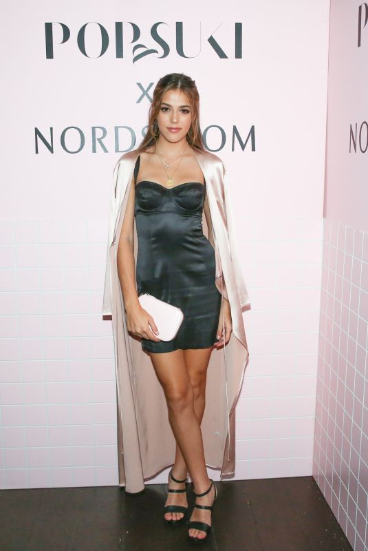 SISTINE ROSE STALLONE at Pop & Suki x Nordstrom Dinner in Los Angeles 10/12/2017
