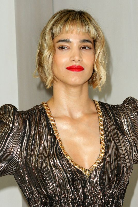 SOFIA BOUTELLA at Hammer Museum Gala in the Garden Honoring Ava Duvernay in Los Angeles 10/14/2017