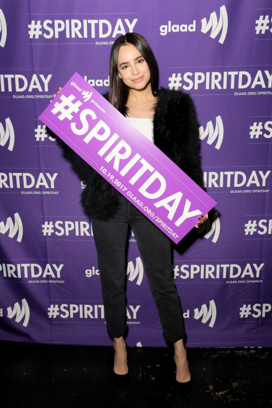 SOFIA CARSON at Justin Tranter and Glaad Present Believer Spirit Day Concert in Los Angeles 01/18/2017