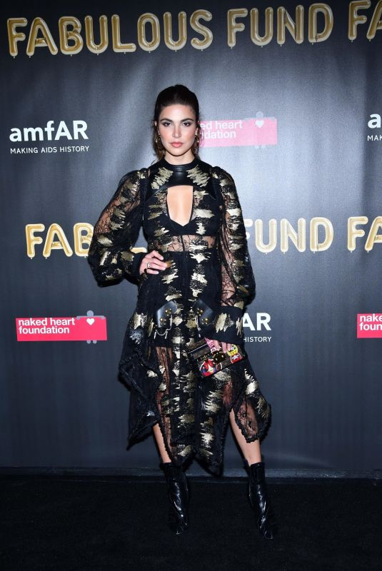 SOFIA RESING at 2017 Amfar Fabulous Fund Fair in New York 10/28/2017