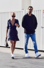 SOFIA RICHIE and Scott Disick at Cross Creek Mall in Malibu 10/28/2017