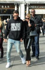 SOFIA RICHIE and Scott Disick Out in Venice 10/17/2017