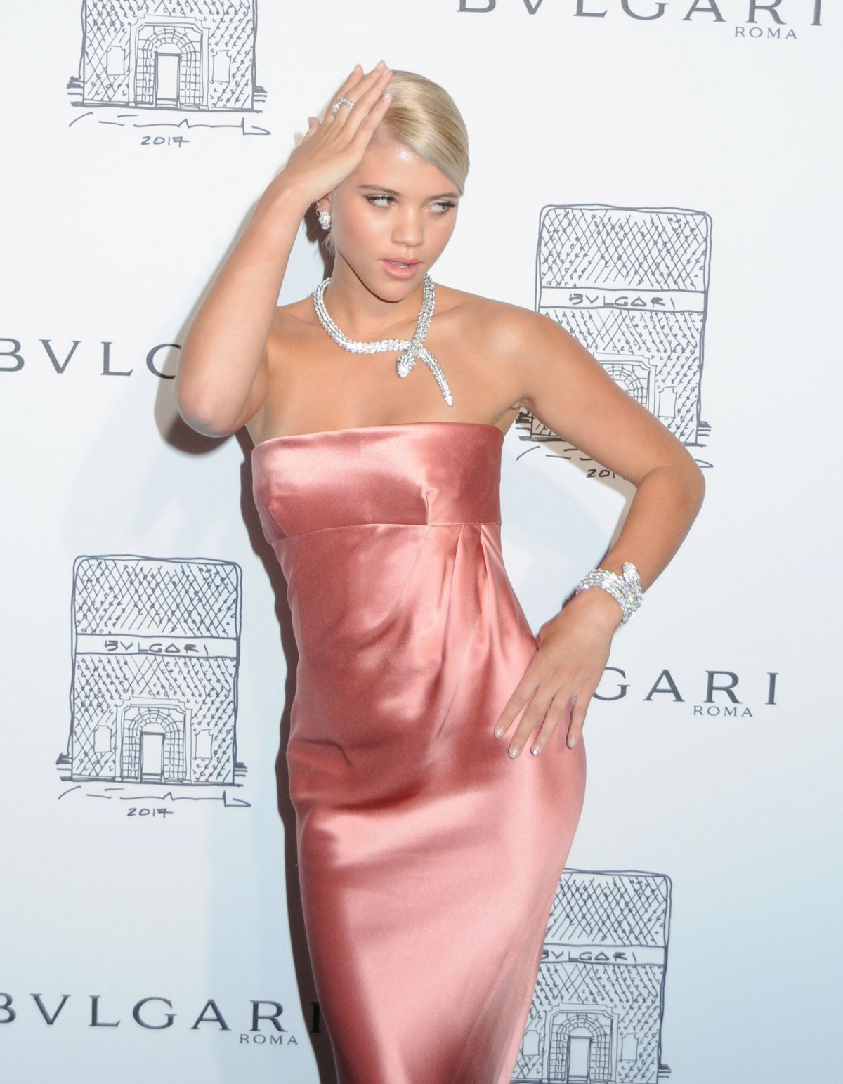65a8ee0e666 SOFIA RICHIE at Bulgari Celebrates 5th Avenue Flagship Store Opening in New  York 10 20 2017