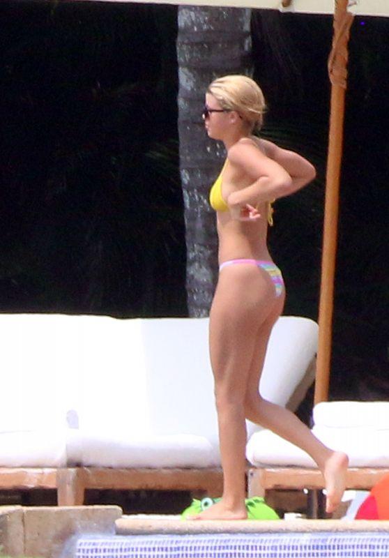 SOFIA RICHIE in Bikini at a Beach in Mexico 10/02/2017