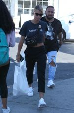 SOFIA RICHIE Out for Lunch in West Hollywood 10/05/2017