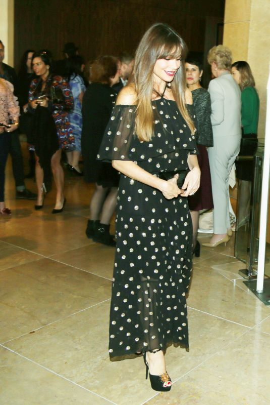 SOFIA VERGARA at Peggy Albrecht Friendly House Event in Los Angeles 10/28/2017