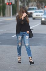 SOFIA VERGARA Out and About in Beverly Hills 10/19/2017