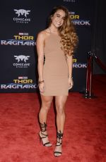 SOMMER RAY at Thor: Ragnarok Premiere in Los Angeles 10/10/2017