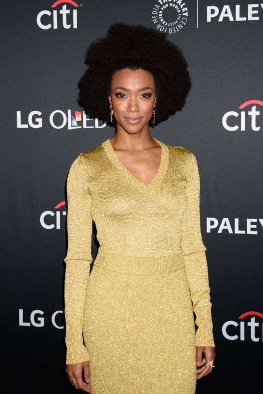 SONEQUA MARTIN GREEN at Star Trek: Discovery Panel at Paleyfest in New York 10/07/2017