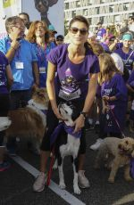 SONIA FERRER at Perroton Race of Solidarity in Madrid 10/15/2017