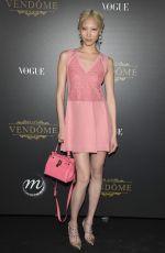 SOO JOO PARK at Vogue Party at Paris Fashion Week 10/01/2017