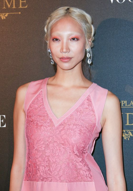 SOO JOO PARK at Vogue Party at Paris Fashion Week 10/01/2017