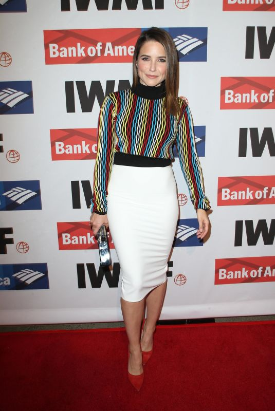 SOPHIA BUSH at 2017 Courage in Journalism Awards in Hollywood 10/25/2017