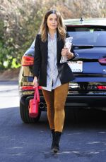 SOPHIA BUSH Heading to a Meeting in Los Angeles 10/03/2017