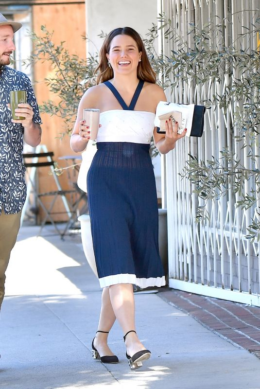 SOPHIA BUSH Out and About in Studio City 10/15/2017