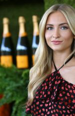 SOPHIE ELKUS at 8th Annual Veuve Clicquot Polo Classic in Los Angeles 10/14/2017