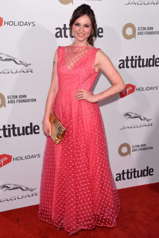 SOPHIE ELLIS-BEXTOR at Attitude Magazine Awards in London 10/12/2017
