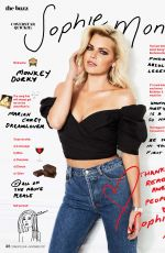 SOPHIE MONK in Cosmopolitan Magazine, Australia November 2017 Issue