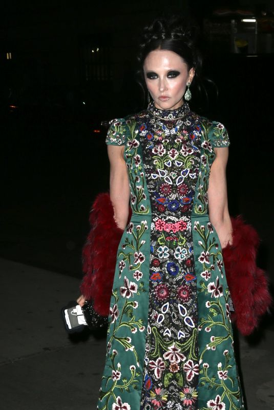 STACEY BENDET at Night of Stars Gala in New York 10/26/2017