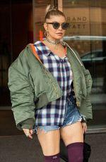 STACY FERGIE FERGUSON Leaves Her Hotel in Berlin 10/06/2017