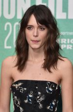 STACY MARTIN at Redoubtable Premiere in London 10/07/2017