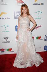 STEF DAWSON at 6th Annual Australians in Film Award and Benefit Dinner in Los Angeles 10/18/2017