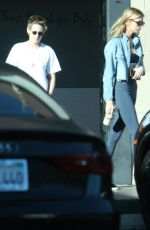 STELLA MAXWELL and KRISTEN STEWART at Quench in Los Angeles 10/22/2017