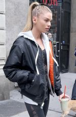 STELLA MAXWELL Out and About in New York 10/24/2017