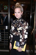 STEPHANIE STYLES at Time and the Conways Opening Night in New York 10/10/2017