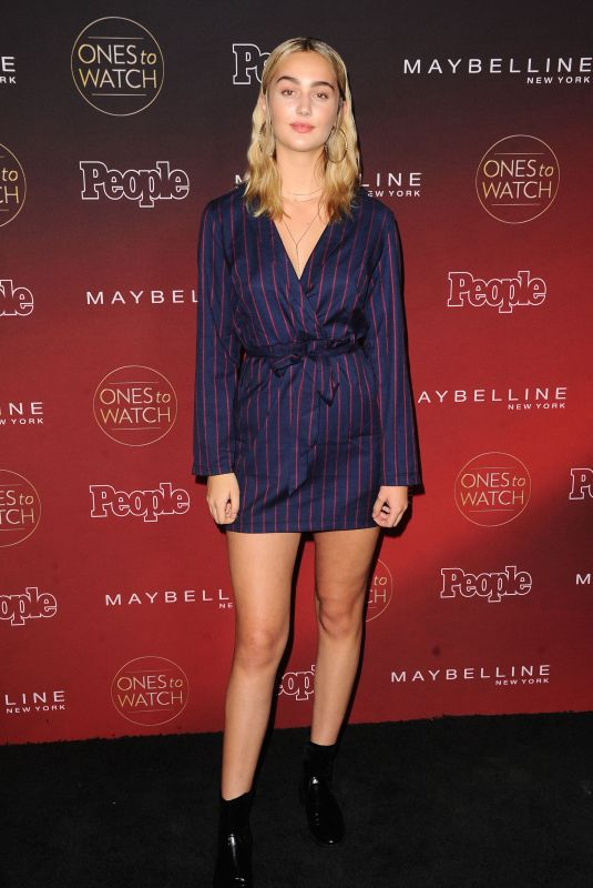 SUEDE BROOKS at People's Ones to Watch Party in Los Angeles 10/04/2017