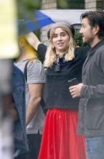 SUKI WATERHOUSE and Diego Luna Out in New York 10/09/2017