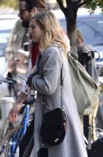 SUKI WATERHOUSE Arrives at Her Hotel in New York 10/13/2017