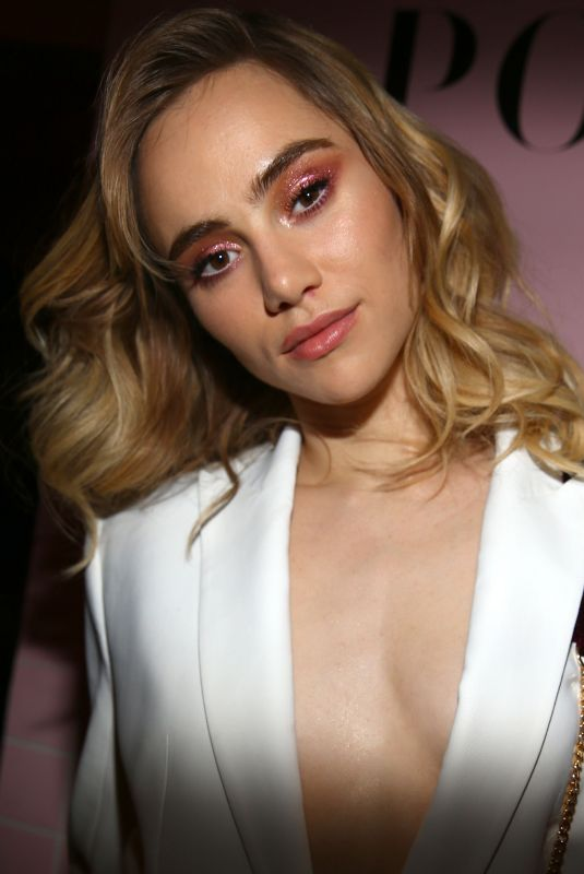 SUKI WATERHOUSE at Pop & Suki x Nordstrom Dinner in Los Angeles 10/12/2017