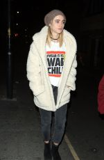 SUKI WATERHOUSE Out and About in London 10/17/2017
