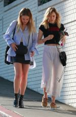 SUKI WATERHOUSE Out and About in Los Angeles 10/12/2017
