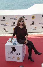 SUSAN SARANDON at Gran Premio Honorifico Award Photocall at Sitges Film Festival in Spain 10/06/2017