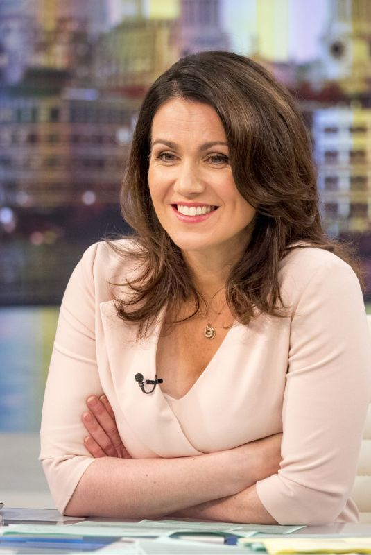SUSANNA REID at Good Morning Britain in London 10/18/2017